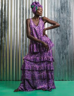 #africanfashion editorial