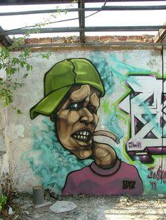Characters By Jestr - Pretoria (South Africa) #streetart