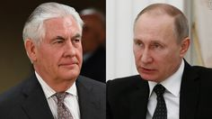 US Secretary of State Rex Tillerson meets with Russian President Vladimir Putin in Moscow as a diplomatic rift between the two nations deepens over Syria.