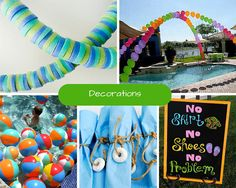 Kids Pool Party Ideas | Summer Party Ideas at Birthday in a Box