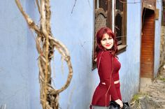New Post / New handmade dress: Whole Lotta Love! #handmade #dress #diy #skirt #top #red #reddress #elbise #kırmızı #dikis #moda