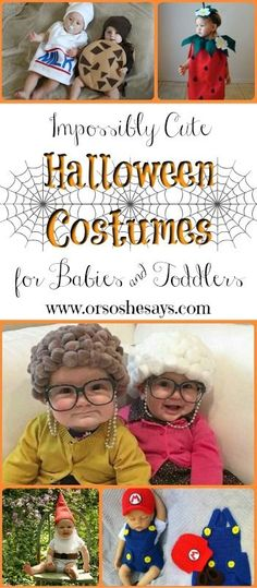 20 Impossibly Cute Halloween Costumes for Babies & Toddlers (she: Mariah)