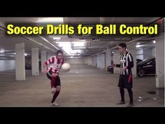 Soccer Drills - Soccer Ball Control Drills For Better Skills Soccer Drills For Kids, Soccer Training Drills, Soccer Workouts, Good Soccer Players, Soccer Practice, Soccer Skills, Soccer Coaching, Soccer Tips, Kids Soccer