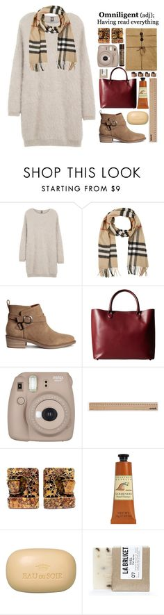 """Rose"" by thenewgirl3 ❤ liked on Polyvore featuring Eleventy, Burberry, Meli Melo, Fujifilm, Artek, Crabtree & Evelyn, Sisley, Hollister Co., L:A Bruket and Maison Margiela"