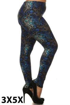 Sizes XS to XXL Leggings Mania Womens Capri Printed Leggings