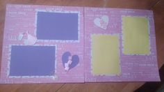 It's a girl scrapbook page