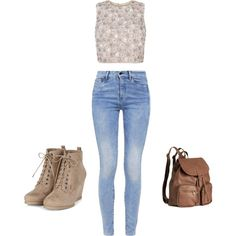 A fashion look from September 2015 featuring G-Star jeans and H&M backpacks. Browse and shop related looks.