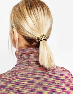 Hair golden accessory