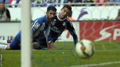 Espanyol 1-4 Real Madrid - CR7 hat trick not enough to get the la Liga title 2014-2015