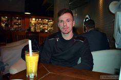 Łukasz Łapszyński during an interview #siatkówka #volleyball #coffeeinterview