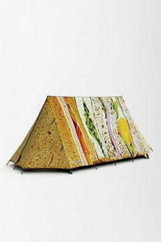 ok, i REALLY need a tent that looks like a sandwich