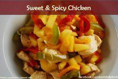 Sweet & Spicy Chicken Recipes #chicken