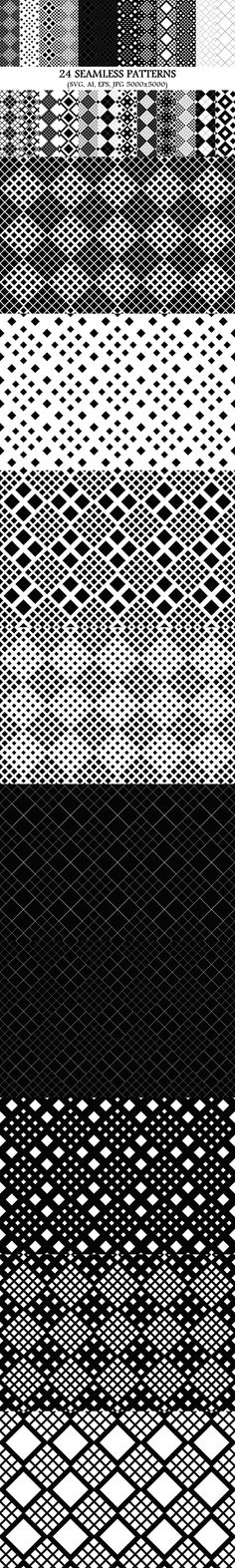 24 Seamless Square Patterns #AbstractBackgrounds #CheapBackground #BackgroundSets #GeometricDesign #DiscountPattern #squarepatterns #SquareBackgrounds #pattern #BackgroundSet #BackgroundDesign #SeamlessPatterns #sale #squareGraphics #abstractbackgrounds #PatternSet #CheapVectorGraphics #monochromepattern #PatternSet #pattern