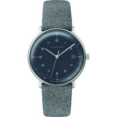 Junghans Max Bill Ladies Date Watch | Felt & Leather 047/4542.00