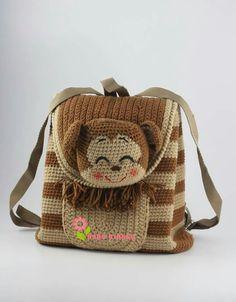 Image gallery – Page 196188127503859211 – Artofit Bag Crochet, Crochet Backpack, Backpack Pattern, Crochet Shoes, Crochet Handbags, Crochet Purses, Crochet Baby, Octopus Crochet Pattern, Crochet Animal Patterns