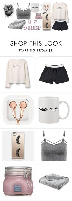 """Untitled #357"" by xxjamiexxx on Polyvore featuring MANGO, Soffe, claire's and Casetify"