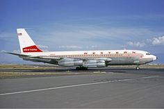 N93142  Boeing 720 Western Airlines Date17 November 1971 Photo by Christian Volpati