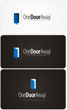 """One Door Away"" - Company/Website Logo  by roktiv"