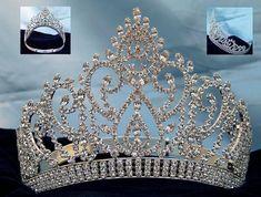 Coroas para tiaras rainha e cetros, noiva, princesa and Quinceanera ...