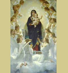 merry-with-angels William Adolphe Bouguereau, Funeral Thank You Cards, Painting Prints, Art Prints, Canvas Art, Canvas Prints, Canvas Size, Queen Pictures, Paris Ville
