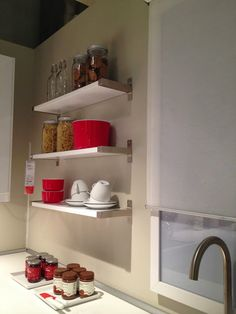 Isabel Pires de Lima for IKEA Portugal  Blue, White and Red Ikea Christmas, Lima, Portugal, Bookcase, Shelves, Red, Design, Blue, Home Decor