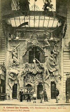 Cabaret-des-Truands-Paris1900, au 100 bd de Clichy.