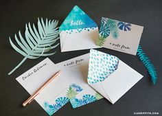 #Stationery #Tropical www.LiaGriffith.com: