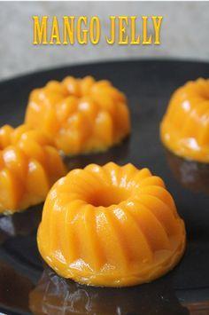 YUMMY TUMMY: Mango Jelly Recipe - Mango Agar Agar Pudding Recipe