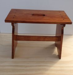 wood bench made from pine, furniture for the home or office