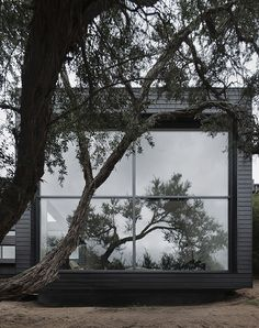 The site for this new house is located within the Moonah Links golf course, on the Mornington Peninsula. Surrounded by forest and freedom. Designed by: Studio Four