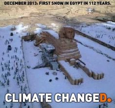 Climate Changed.