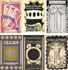 Vanessa Bell designed book covers. Beautiful! (via the lovely Rifle blog)
