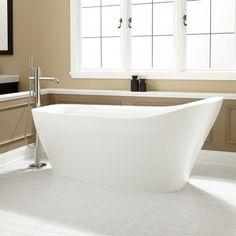 Vivien Acrylic Slipper Tub