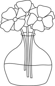 Digital Stamp -Flowers