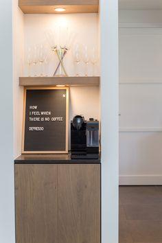 Coffee Corner, Apartment Interior Design, Liquor Cabinet, Sweet Home, New Homes, Storage, Modern, Inspiration, Furniture