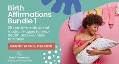 ❤️ SOCIAL MEDIA CONTENT ❤️ 👶🏾 💜 Birth Affirmations Bundle 1 👶🏾 💜 - Birth affirmations are sayings or statements designed to change your mindset and help you maintain a positive outlook or mood about the birth process. Positive birth affirmations can be a great tool to use during labor and delivery of your baby. They can help you to focus on the right things and get into the mental state needed for a natural birth. #BirthAffirmations #Birth #PositiveBirth Social Media Images, Social Media Content, Birth Affirmations, I Am Strong, Natural Birth, Change Your Mindset, Positive Outlook, Baby Needs, Doula