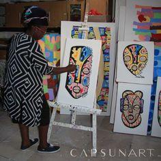 Acheter un tableau artistique ce n'est pas simplement acheter un objet décoratif. C'est aussi rendre hommage à l'artiste qui l'a créé, ressentir son inspiration. Alda Bikindou aime transmettre la beauté et la joie des choses simples de la vie.