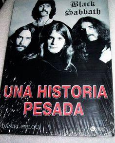 Black Sabbath Una Historia Pesada Book Music Spanish Espanol Rock Roll