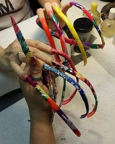 Long Black Nails, Long Nails, Acrylic Nail Designs, Nail Art Designs, Curved Nails, Long Fingernails, Finger Nail Art, Sexy Nails, Long Acrylic Nails