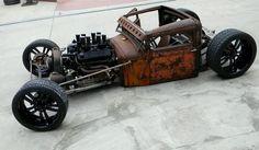 Rat Rod - Rust is the color. Rat Rods, Rat Rod Cars, Ford Motor Company, Dodge Trucks, Dually Trucks, Truck Drivers, Big Trucks, Semi Trucks, Sweet Cars