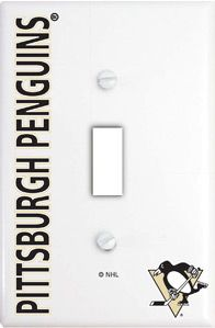 Pittsburgh Penguins Light Switch Cover