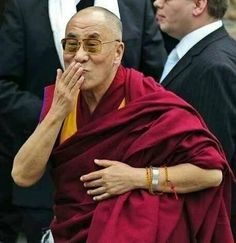 H.H . Dalai Lama 7/6/2014 Birthday79 years old.