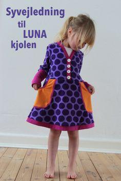 LaRaLiL: Syvejledning til Luna-kjolen