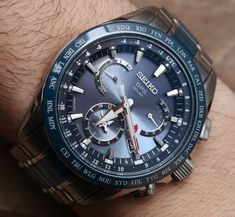 The Seiko brand is a Japanese watch company that is known for the elite timepieces that they manufac Gadget Watches, Cool Watches, Watches For Men, Dream Watches, Wrist Watches, Watch Companies, Watch Brands, Seiko Sportura, Herren Chronograph