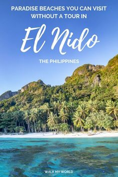 El Nido, Palawan: How to visit stunning beaches without a tour — Walk My World : How to visit some of the best beaches in El Nido without a tour! Here's the best beaches you can get to by kayak, motorbike, tricycle or van from El Nido. Tahiti, Cool Places To Visit, Places To Go, El Nido Palawan, Palawan Island, Vietnam, Beaches In The World, Philippines Travel, Bhutan