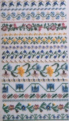 Mill Hill Beaded Sampler PASTEL BORDERS in by ThePamperedStitcher, $5.75