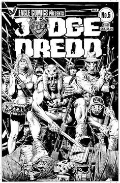 Brian Bolland Dredd Eagle Comics 5