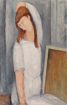 Amedeo Modigliani (1884–1920), Jeanne Hébuterne, 1919, Oil on canvas, 100.3 x 65.4 cm | Barnes Foundation