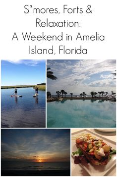S'mores, Forts, & Relaxation: A Weekend in Amelia Island, Florida Weekend Trips, Weekend Getaways, Vacation Trips, Vacation Spots, Day Trips, Vacations, Visit Florida, Florida Travel, Florida Beaches