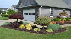 landscape on a budget florida   Front Yard Curb Appeal ... on Unlevel Backyard Ideas id=99722
